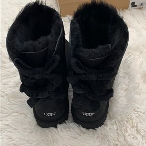 Authentic bailey bow corduroy UGG Boots